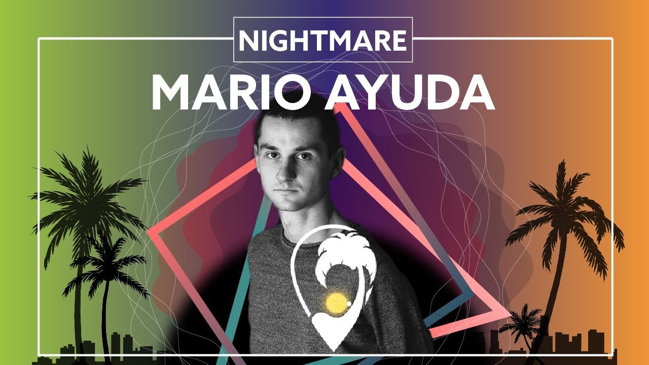 Mario Ayuda -  Nightmare (Ft. Mia Mormino) [Lyric Video]