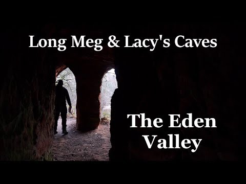 Long Meg & Lacy's Caves. The Eden Valley 10th Jan 2018.