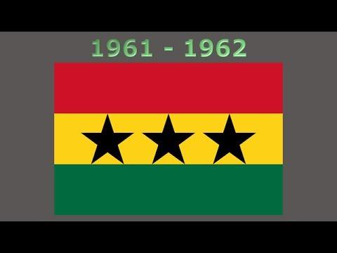 History of the Ghana flag