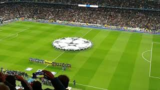 Real Madrid vs PSG himno Champions League