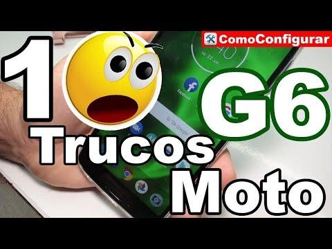 10 Trucos para Moto G6 Play y G6 PLUS 2018 Consejos Trucos Ocultos Y Novedades