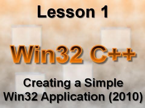 C++ Win32 Tutorials