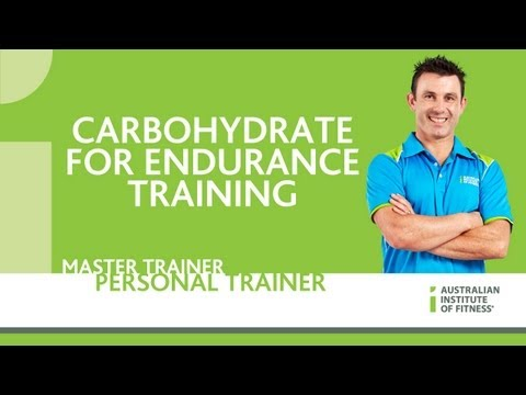 Carbohydrate for Endurance Training