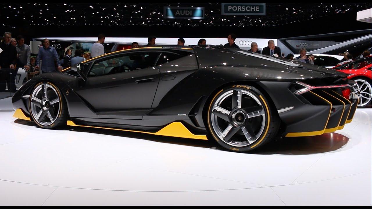 Geneva Motor Show 2016 4 Of 7 Lamborghini Centenario