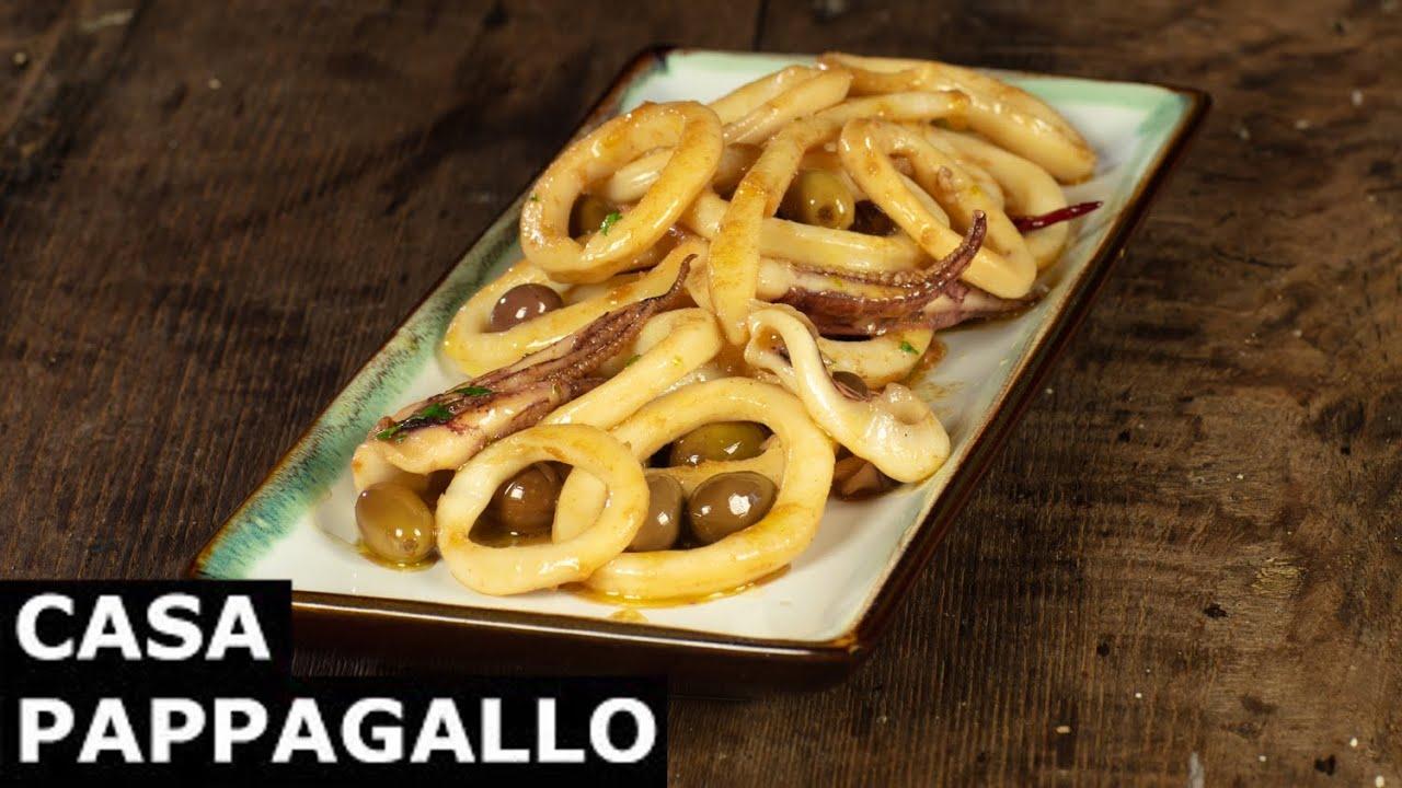 Calamari con olive taggiasche S3 - P162