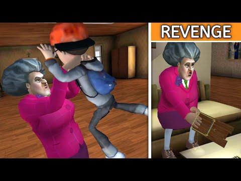 TEACHER SE REVENGE   SCARY TEACHER 3D   FULL FUNNY GAMEPLAY