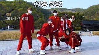 [iKON] 킹덤 체육대회 아이콘 리액션cut