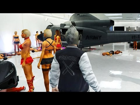GTA 5 MODDED LOBBY - MODDER HUNT! UNLIMITED MONEY, CRAZY STRIPPERS & MORE! (GTA 5)