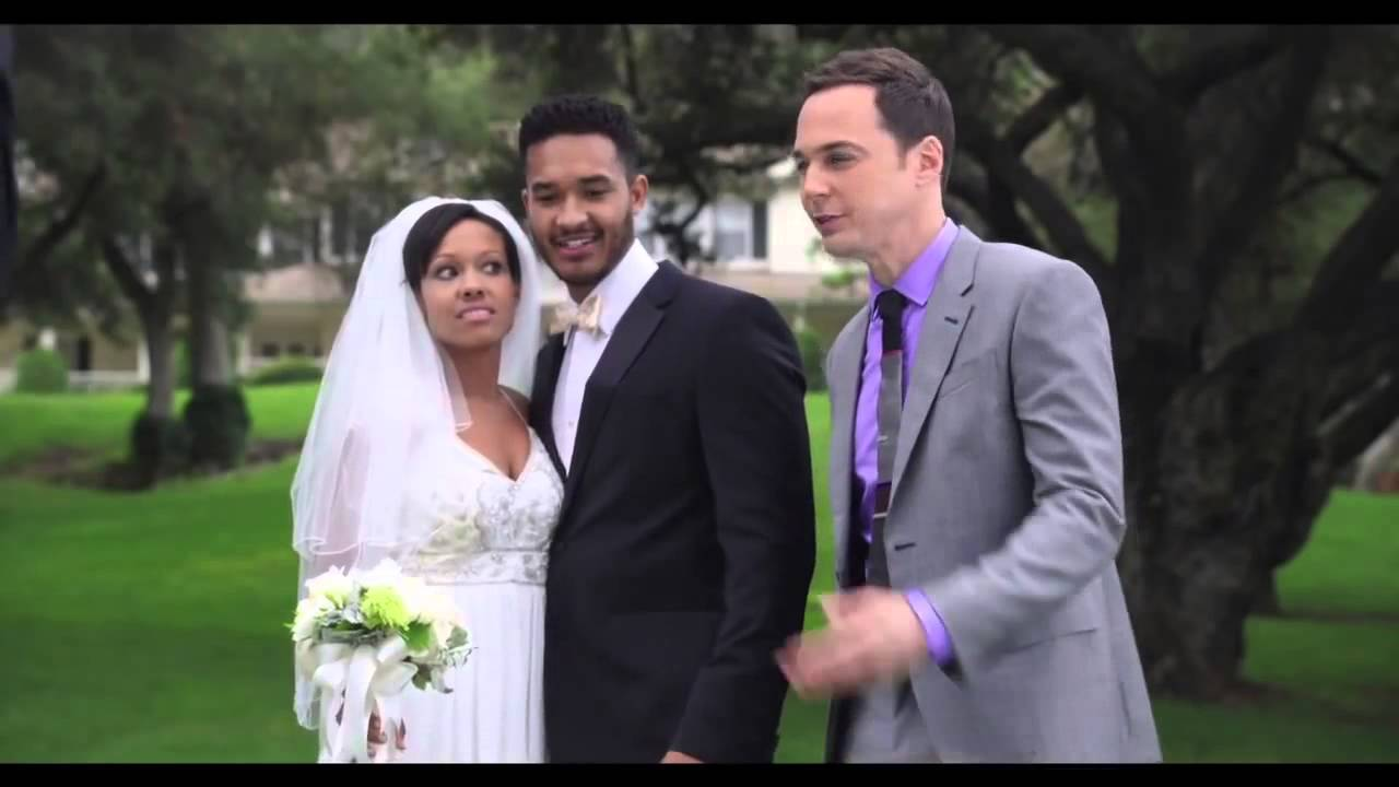 "Jim Parsons Crashes Their ""Wedding"""