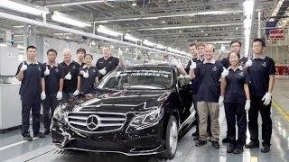 2014 Mercedes Benz E Class Production