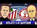 ATLETICO MADRID vs BAYERN MUNICH 1-0 (UEFA Champions League 2016 Semi-Final Parody Highlights)
