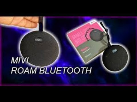 Best Speaker || MIVI ROAM ULTRA-PORTABLE WIRELESS SPEAKER WITH HD SOUND Unboxing and Review
