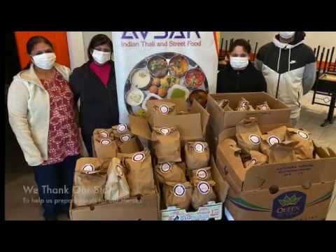 Avsar donates 100 meals to Mount Sinai, Toronto