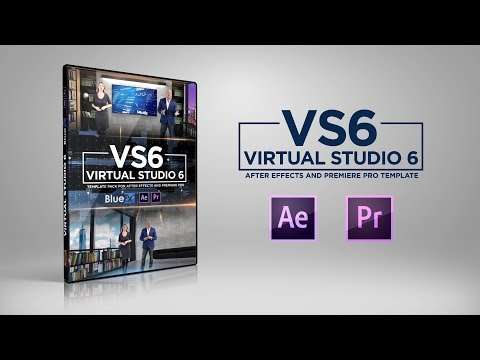After Effects Template Virtual Studio 6 | Bluefx