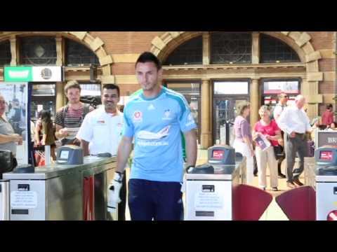 Sydney FC - Free Public Transport to Allianz Stadium