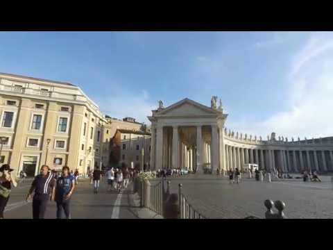 Walking to Vatican City in 4K - Rome Italy DJI OSMO