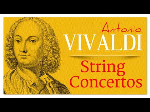 Vivaldi String Concertos - Baroque Renaissance Instrumental Music