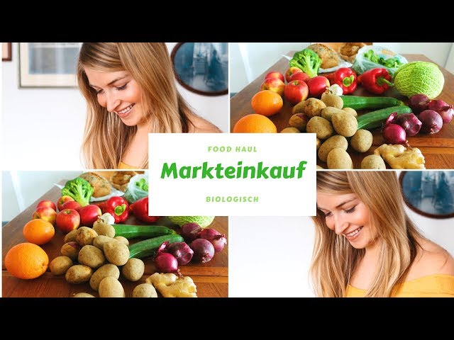 Mein Markteinkauf - Bio-  Food Haul | Charlotte Weise
