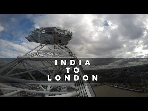 Europe tour | My first International Trip  | India - London | Episode One