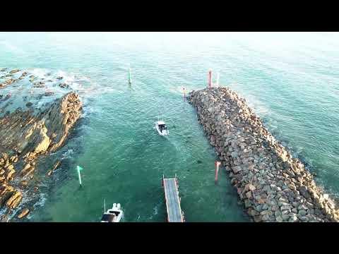 Bastion Point Boat Ramp Mallacoota - entrance to Eastern Vic's kingfish capital