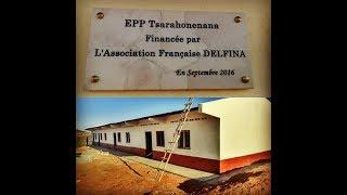 La construction de l'Ecole primaire Tsarahonenana, Madagascar