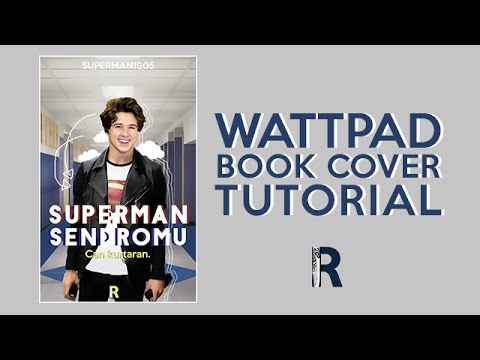 Wattpad Book Cover Tutorial  Superman Sendromu (speedart
