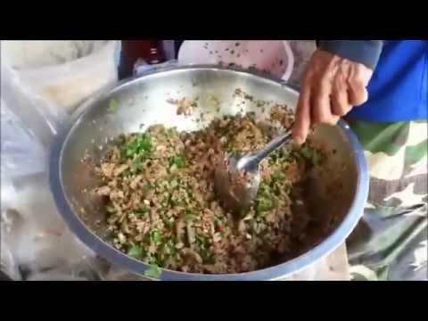 ลาบหมู Lap pork/วิธี ทํา อาหาร อีสาน โดยอ้ายปาน