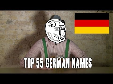 Top 55 German Names! (Male Version)    CopyCatChannel