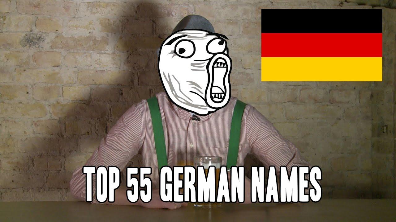Top 55 German Names Male Version Copycatchannel