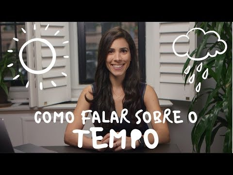 How to talk about the WEATHER in Portuguese  Speaking Brazilian