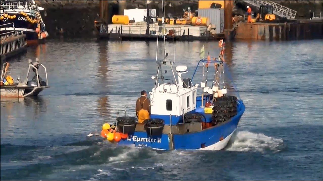 Célèbre L'épervier 2 ; Palangrier ; Ligneur ; Bateau de Pêche ; Lorient  WI94