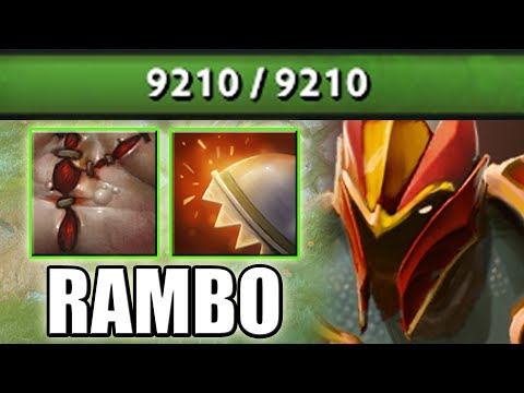 GO GO RAMBO [9k HP Dragon Knight with Flesh Heap + Reactive Armor] Dota 2 Ability Draft thumbnail