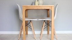 Making a Very Small Dining Table