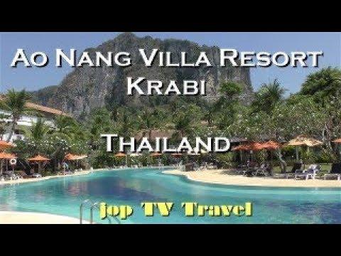 Ao Nang Villa Resort Krabi (Thailand) Vacation Travel Video Guide Jop TV Travel 4k   01