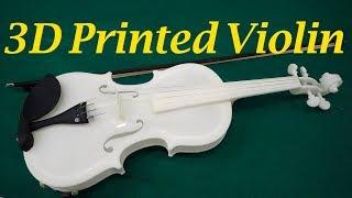 都産技研 3Dプリンターでバイオリン、その設計と製作 - Design and fabrication of 3D printed violin -