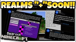 """Minecraft Bedrock - REALMS PLUS """"+"""" (15max)COMING SOON ! [ Leaked Game Files] MCPE / Xbox / Bedrock"""