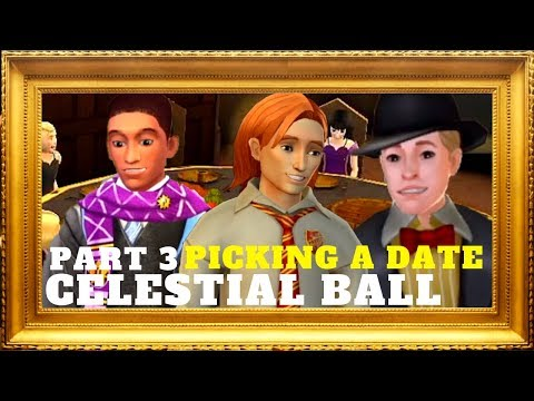 PICKING A DATE FOR THE  CELESTIAL BALL Part 3 | Harry Potter Hogwarts Mystery Gameplay