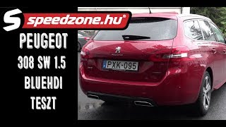 Peugeot 308 SW 1.5 BlueHDi EAT8: Gól?