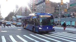 NYCT Regional Bus: New Flyer Xcelsior XD40 7537 (2) Train Shuttle Bus@West 96th Street/Broadway thumbnail