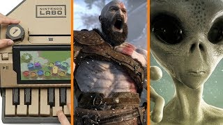 Labo Can do ANYTHING? + God of War Like... FIFA? + GPU Crisis Hurts Alien Search