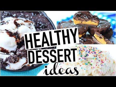 HEALTHY DESSERTS! Easy + Quick + Vegan/Gluten Free!