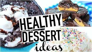Healthy Desserts! Easy + Quick + Vegan/Gluten Free!