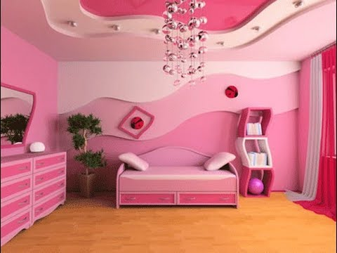 Top 40 Pink Bedroom Ideas For Girls | Cute Interior Design for Teenagers  Wall Color Decorating