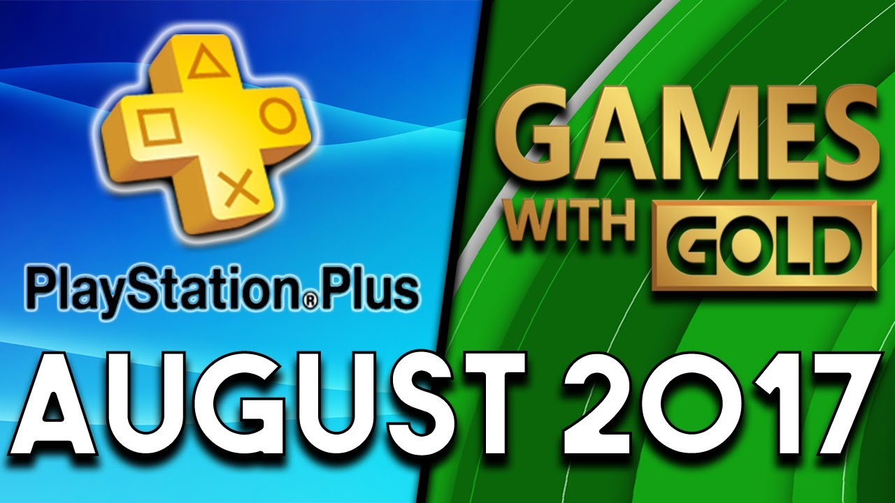 Playstation Plus Vs Xbox Games With Gold August 2017