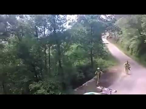 Accidente Alberto Meira Rally Rías Baixas 2014