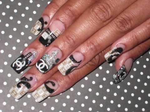 Designer Nails Youtube