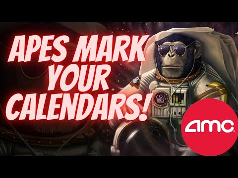 Download AMC Apes Mark Your Calendars for October 1st.  (NO PREDICTIONS)