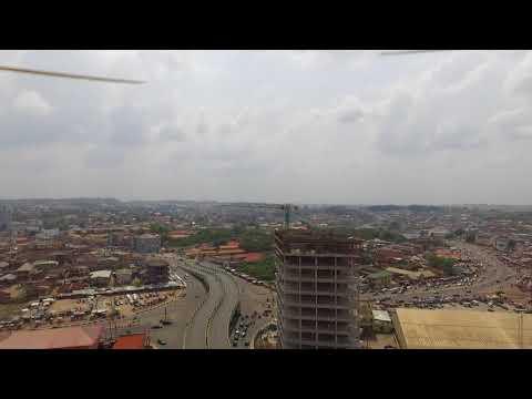 ABEOKUTA METROPOLIS - OGUN STATE - (DRONE SHOT)
