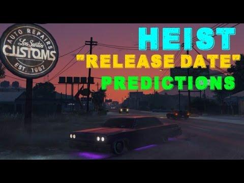 Gta 5 heist release date in Australia