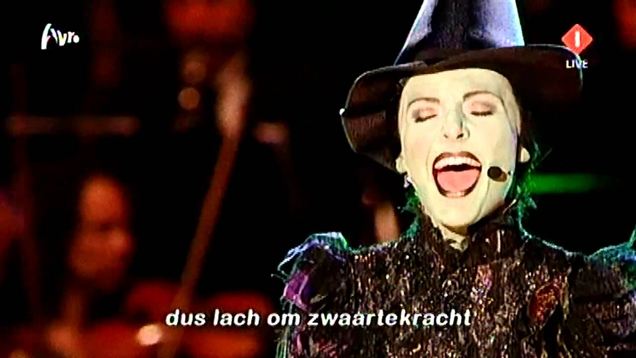 willemijn verkaik wicked defying gravity ik lach om